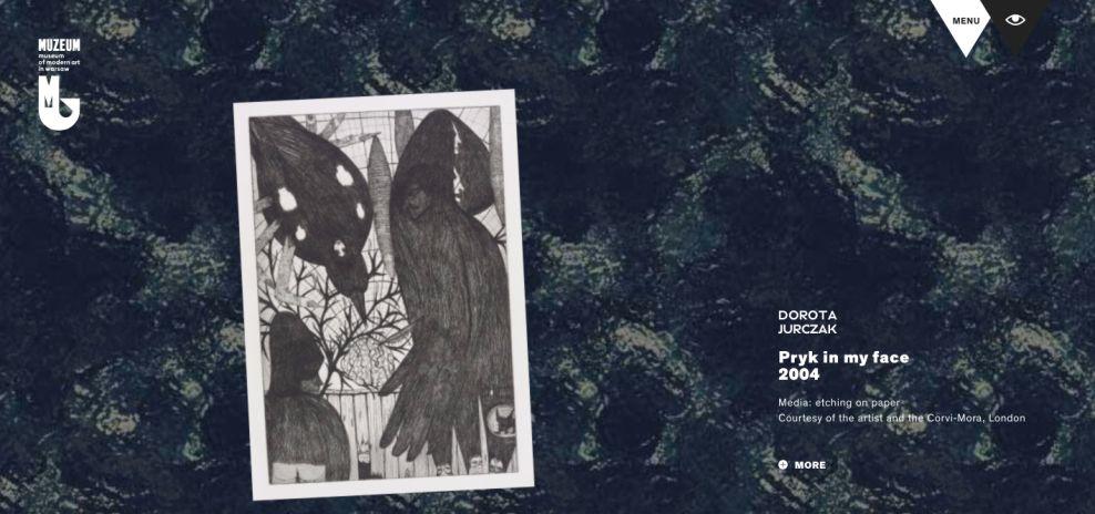 Syrena Art Museum Elegant Website Design