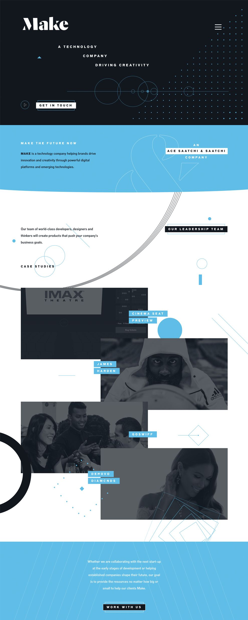 Make Technology Creative Homepage