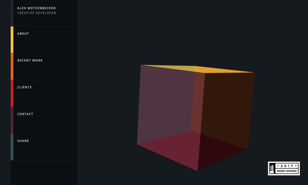 Mstudio Creative Homepage