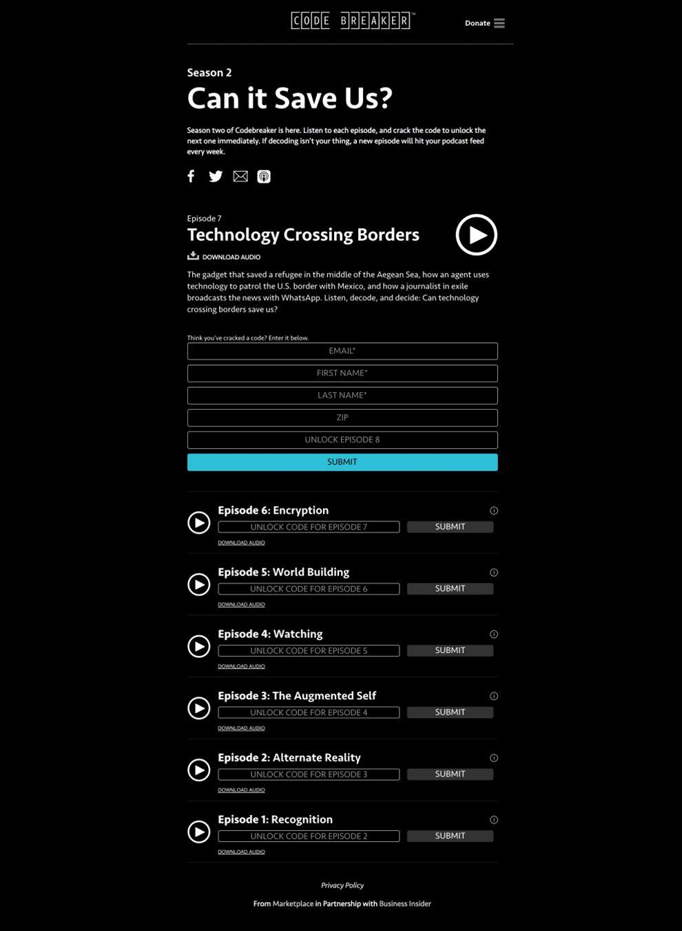 CodeBreaker Great Website Design