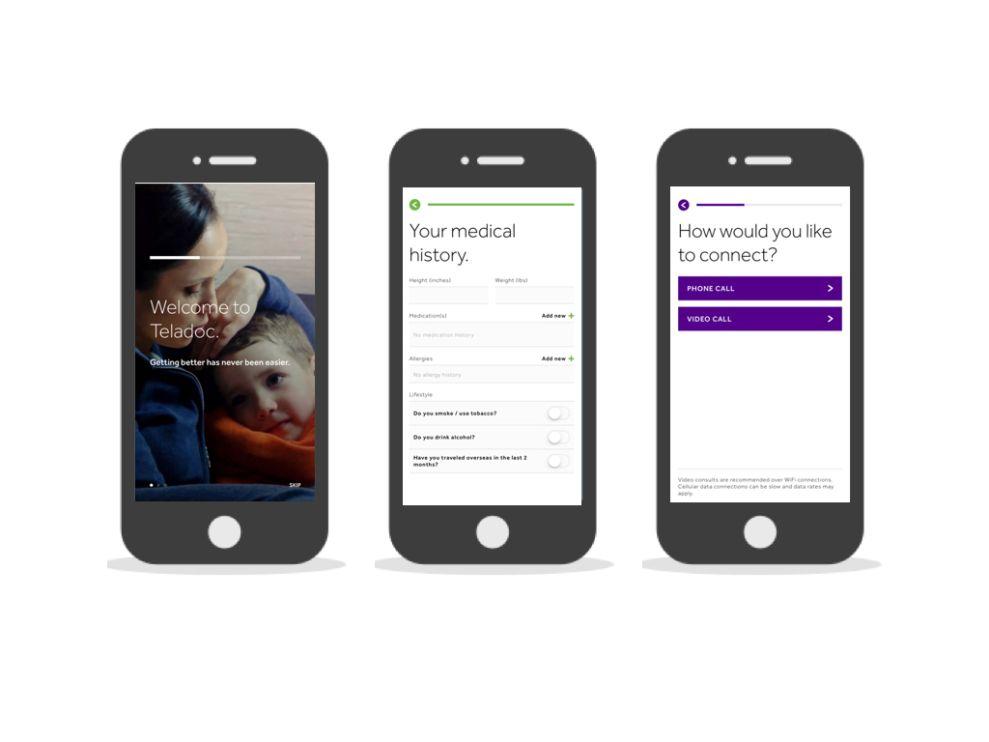 Teladoc Amazing App Design