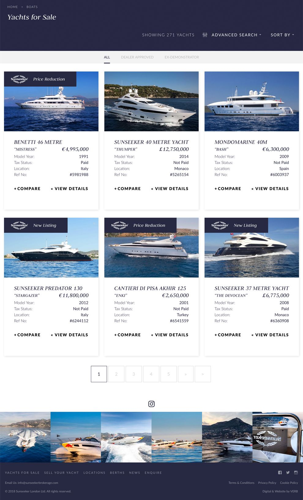 Sunseeker Brokerage Great Product Page