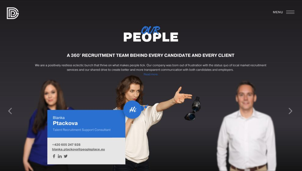 People Place Amazing Website Design
