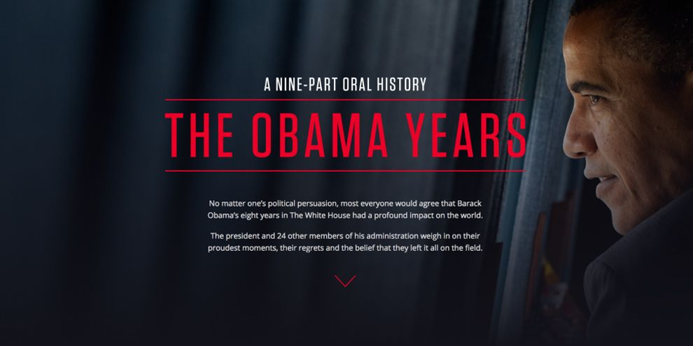 The Obama Years Great Homepage