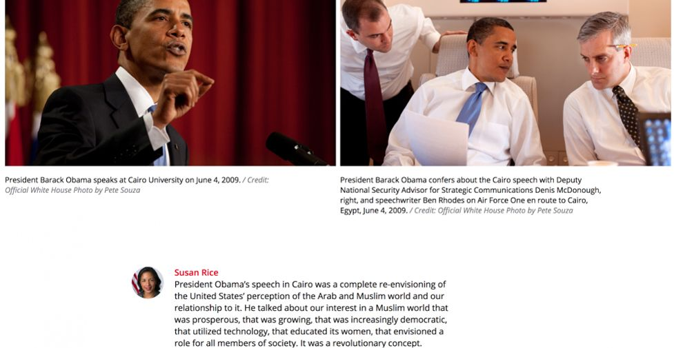 The Obama Years Great Website Design