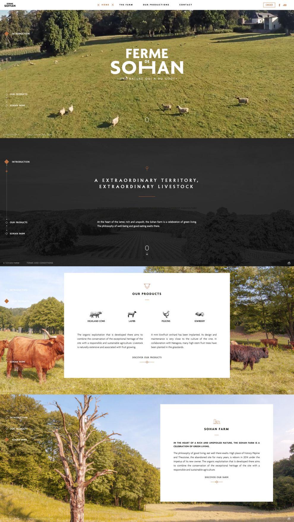 Ferme de Sohan Great Homepage