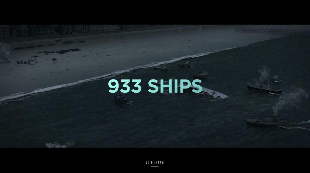 Dunkirk Amazing Homepage