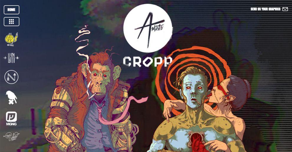 Cropp Creative Homepage