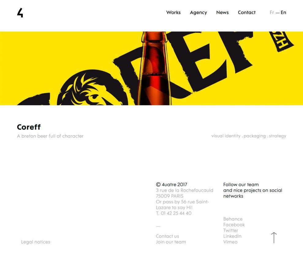 4uatre Clean Main Website
