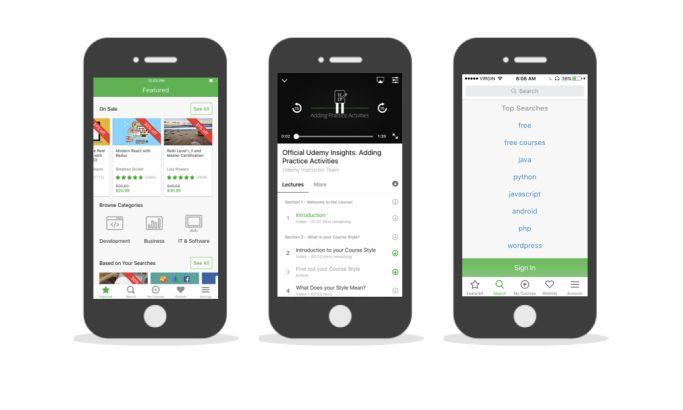 Udemy Great App Design