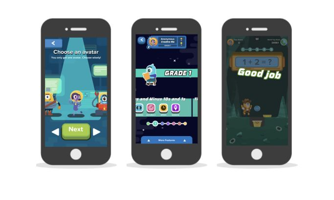 Zap Zap Math Playful App Design
