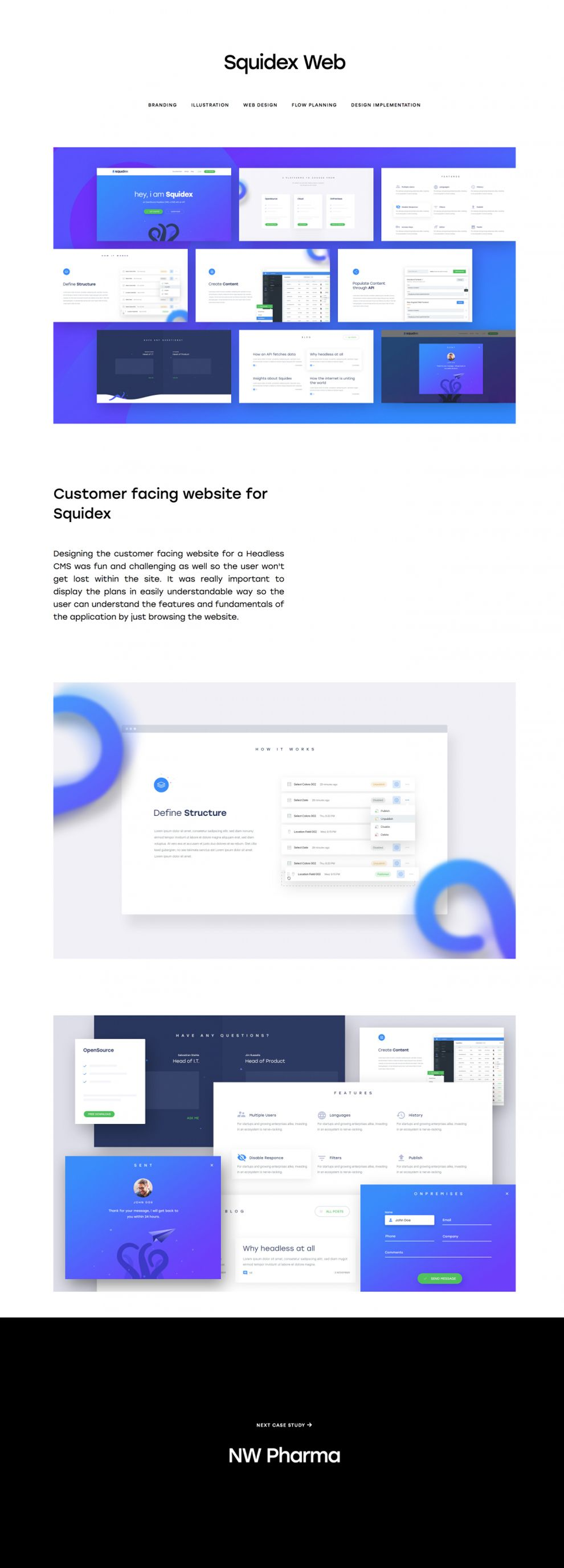 Qaisar Design Amazing Project Page