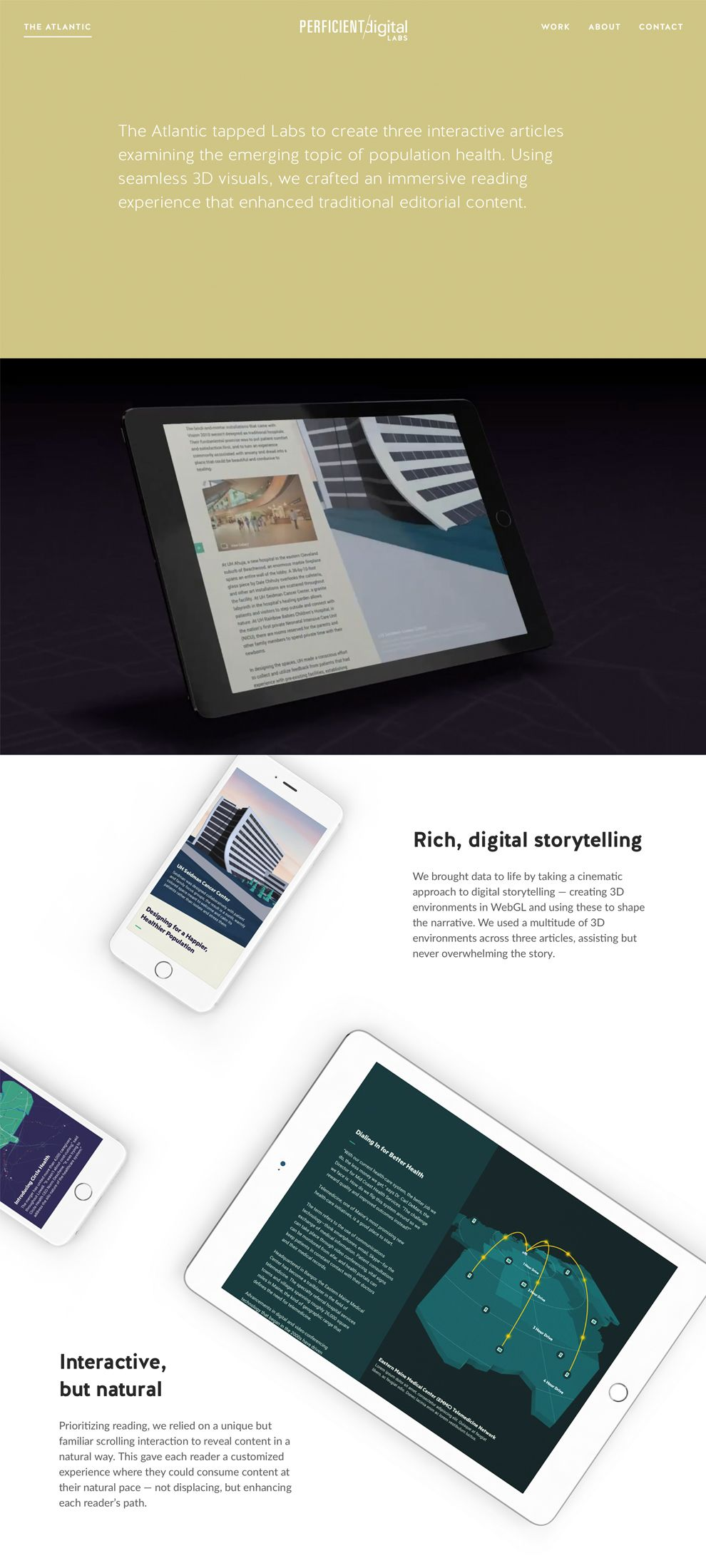 Truthlabs Awesome Website Design