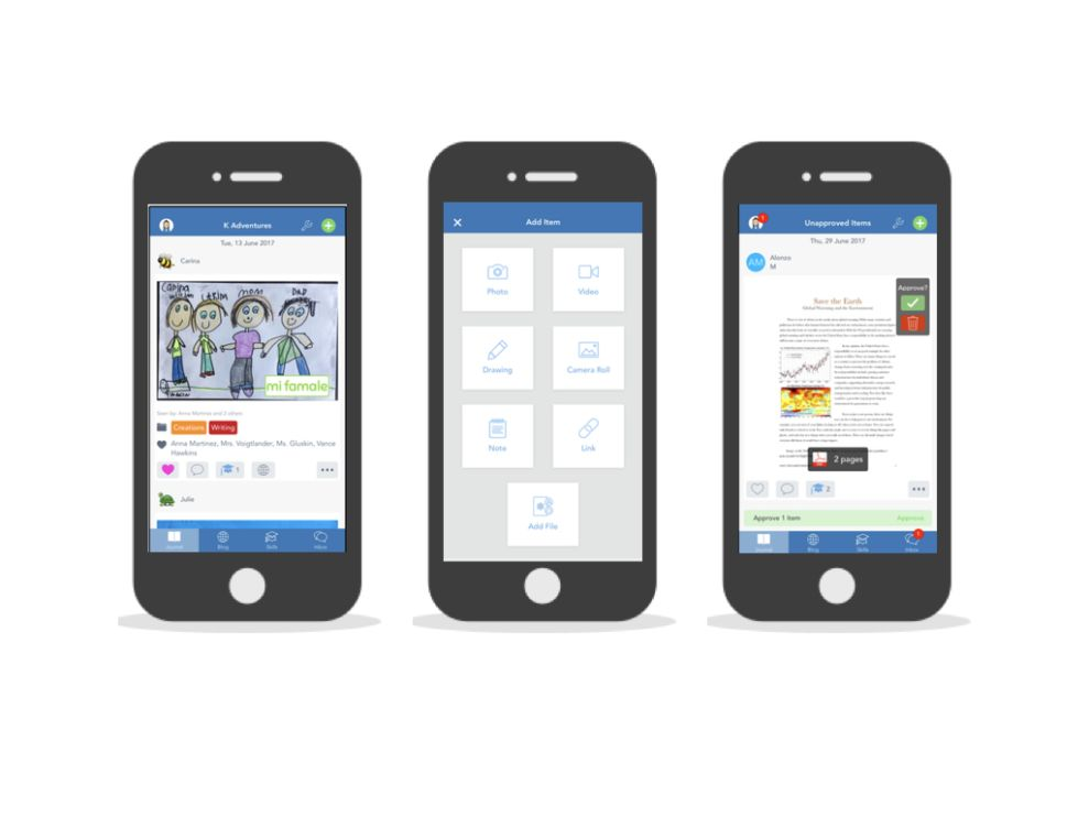 Seesaw Awesome App Design