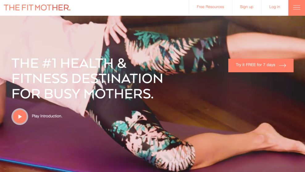 The Fit Mother Great Homepage