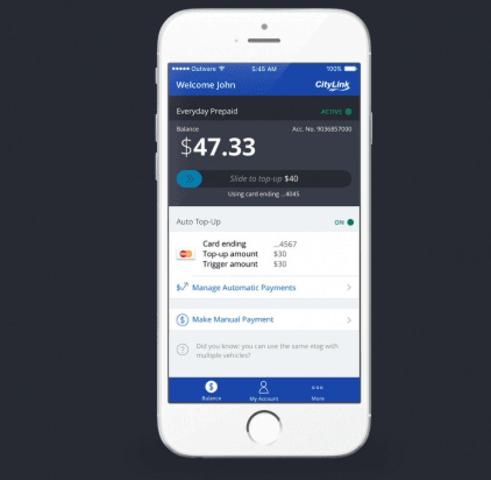 Citylink Simple App Design