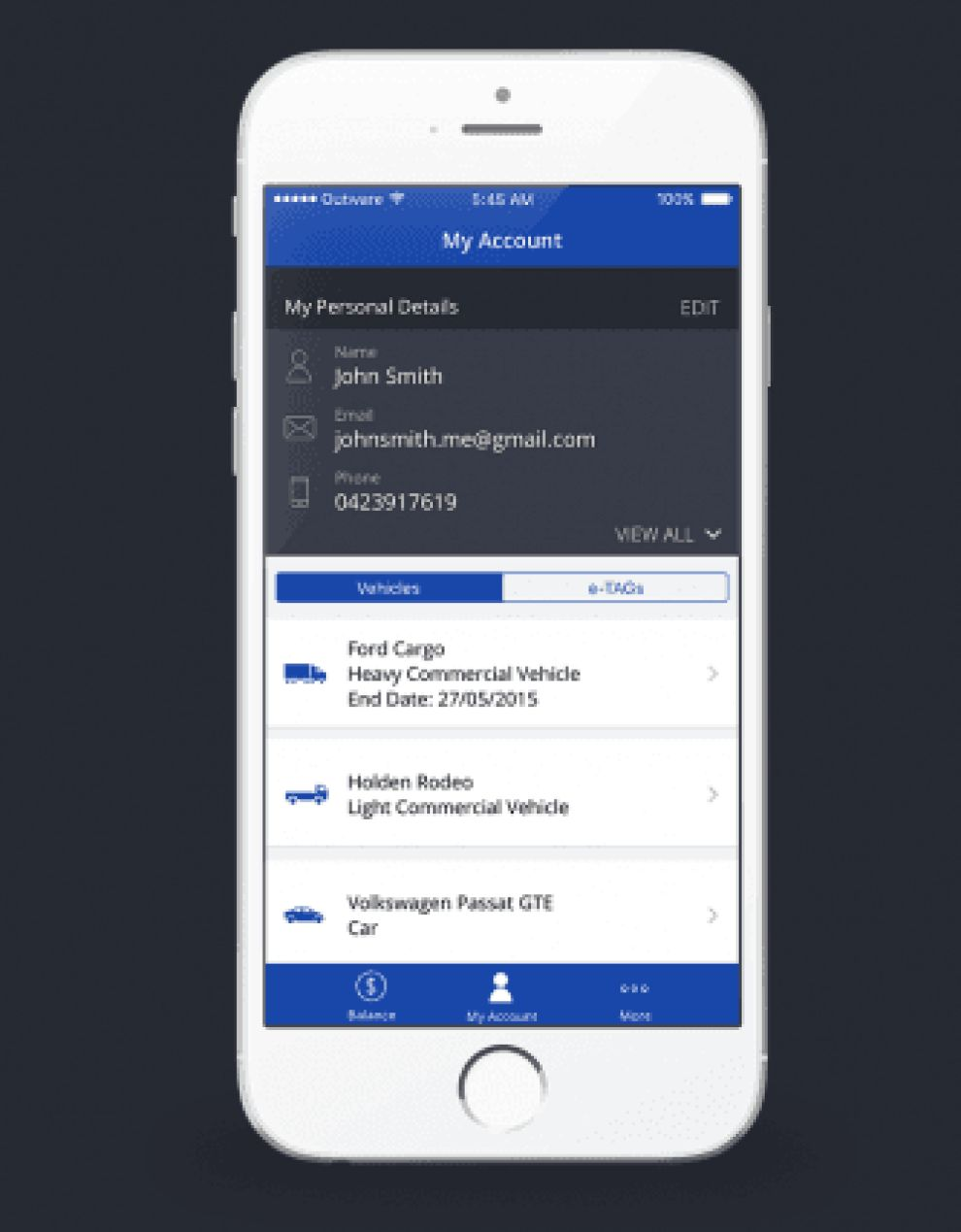 Citylink App Design