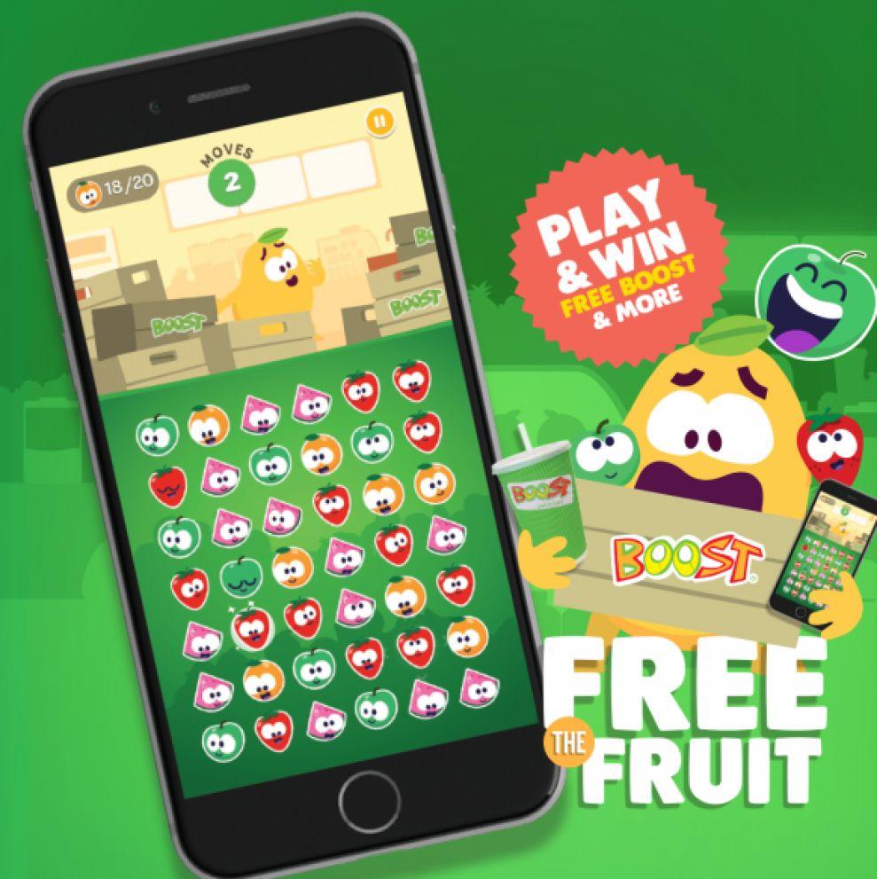 Boost Juice Fun App Design