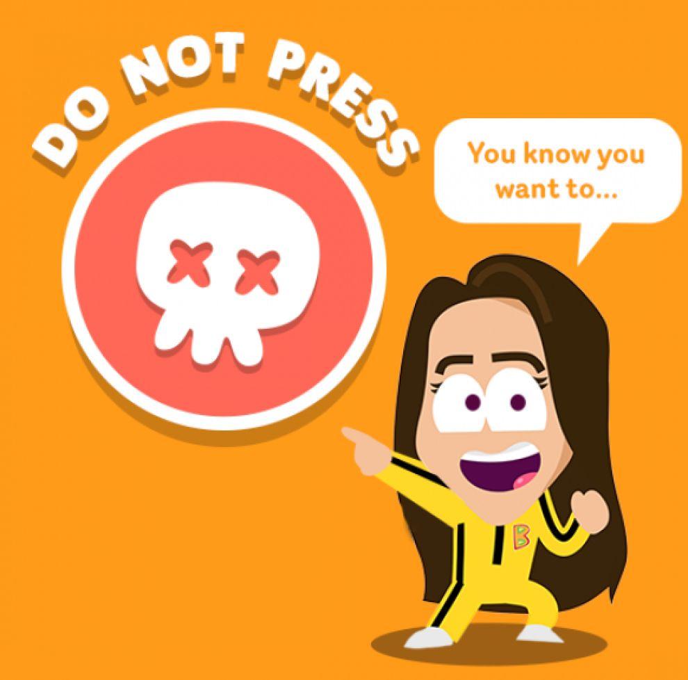 Boost Juice Colorful App Design