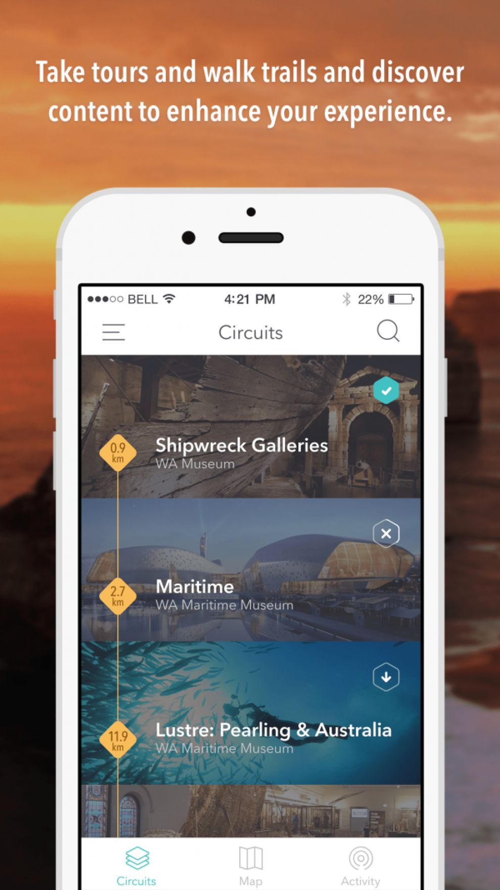 Everythere Elegant App Design