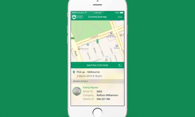 CabFare Clean App Design