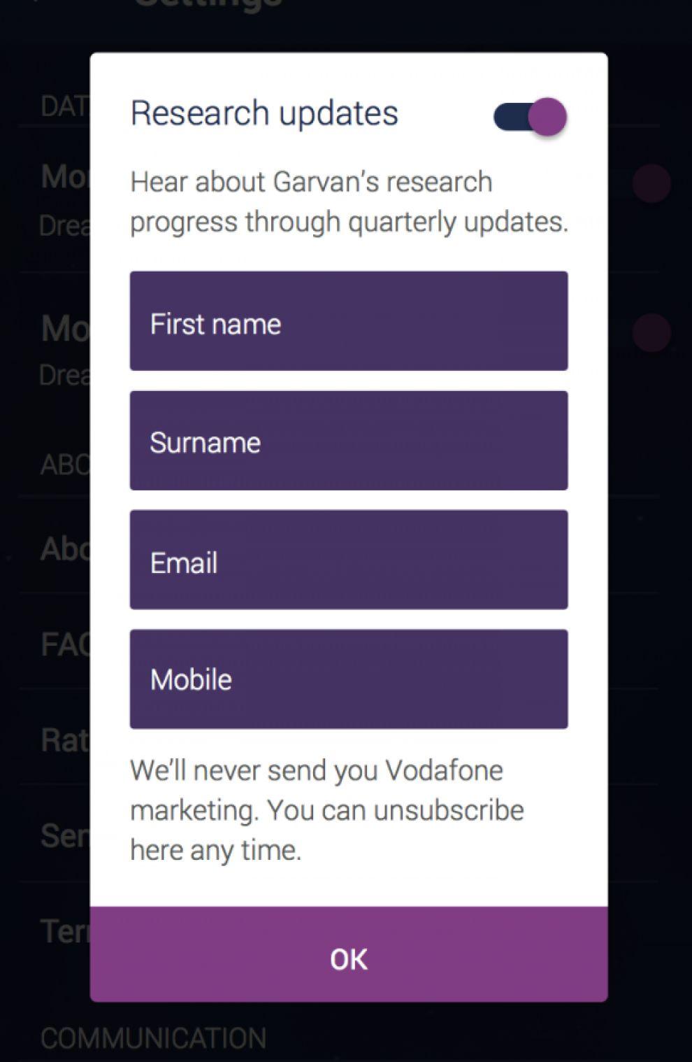 DreamLab Clean App Design