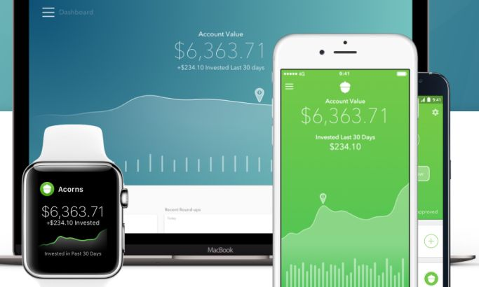 Acorns Modern App Design