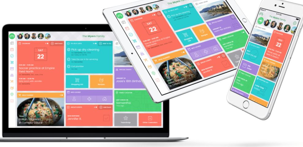 Picniic Colorful App Design
