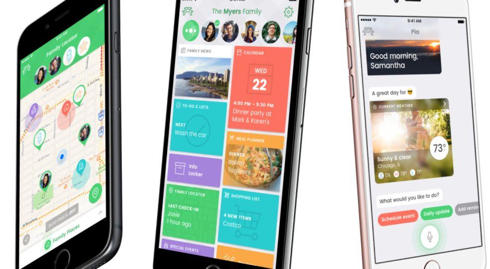 Picniic Bright App Design