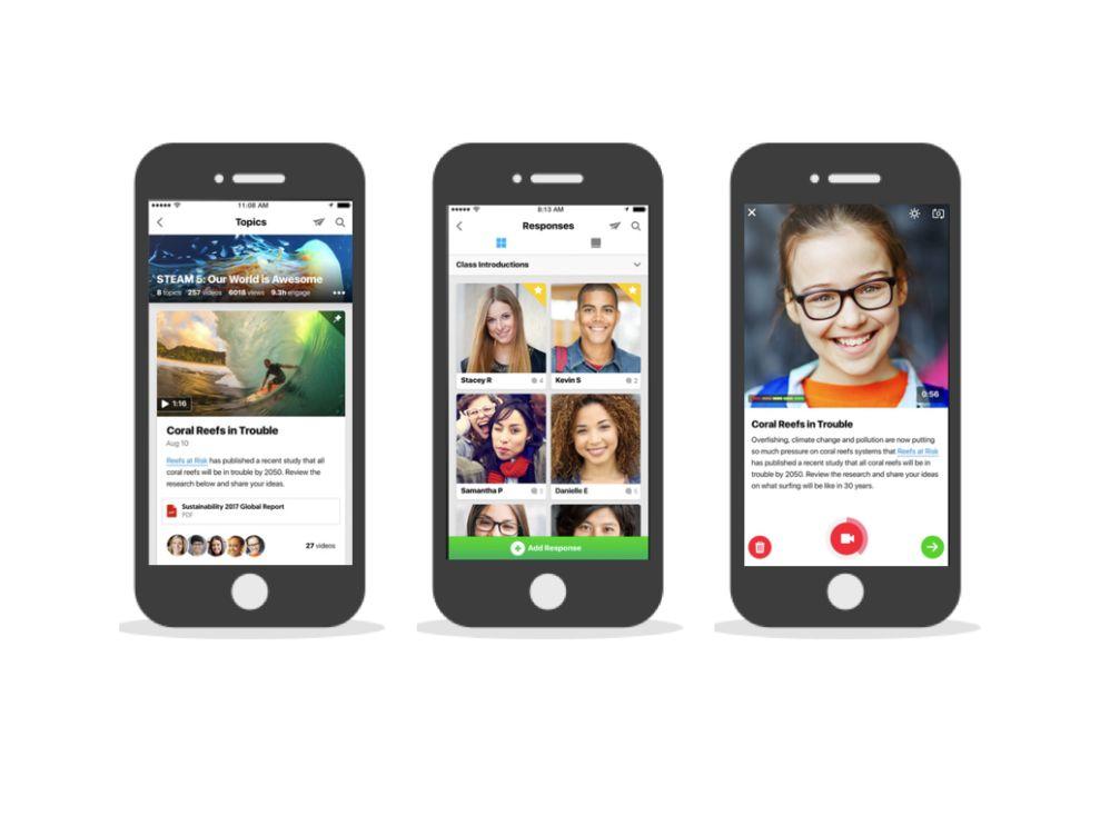 Flipgrid Exciting App Design