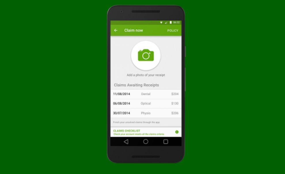 Nib Health Insurance Clean App Design