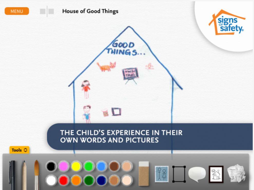 My Three Houses Fun App Design