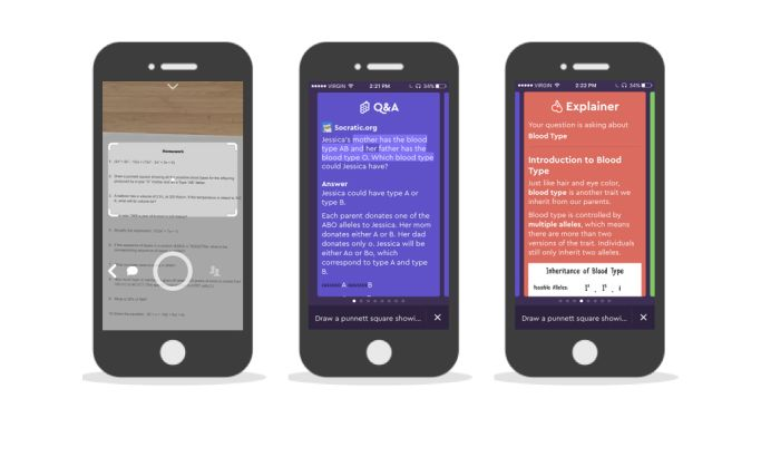 Socratic Awesome App Design
