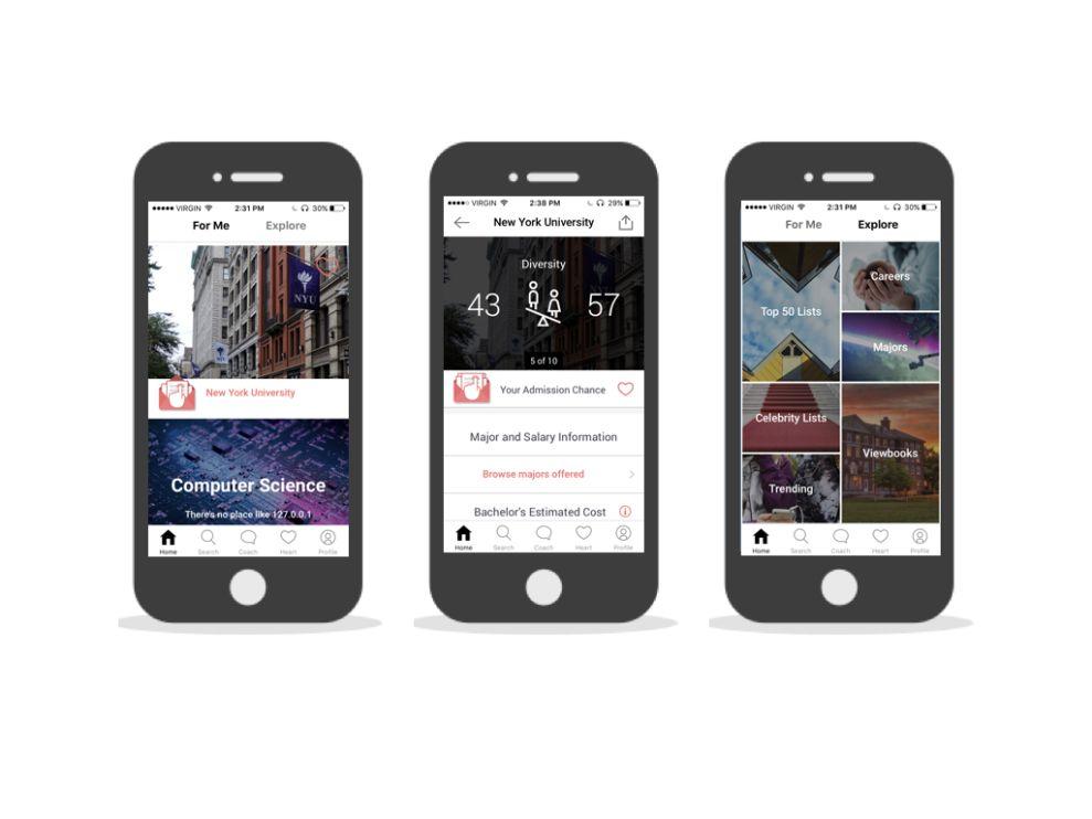 Schoold Gorgeous App Design