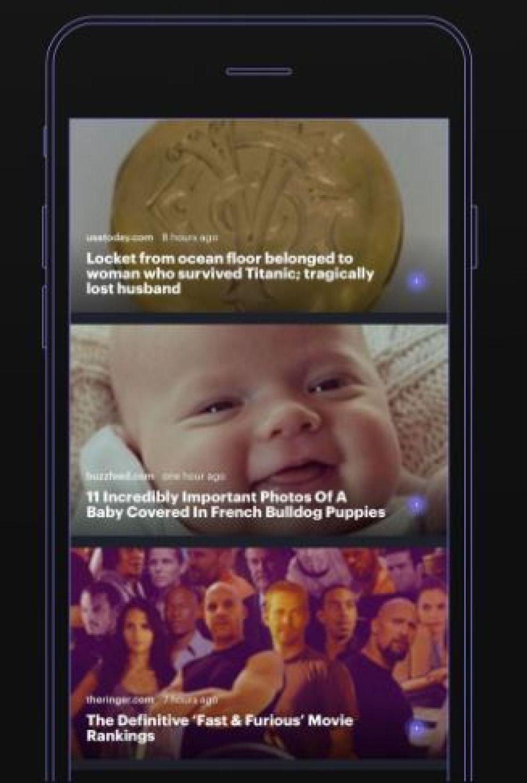 Twain News Simple App Design