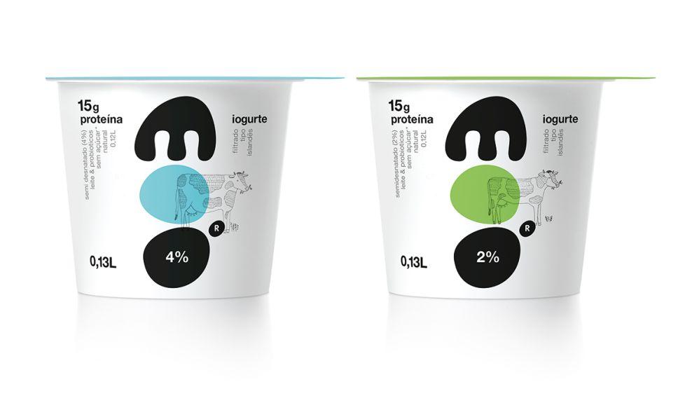 Moo Yogurt Package Design