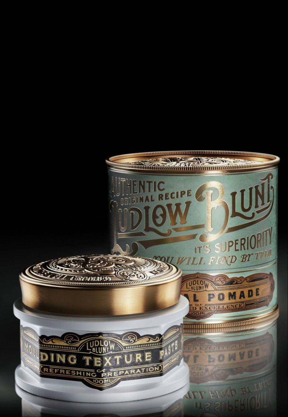 Ludlow Blunt Elegant Package Design