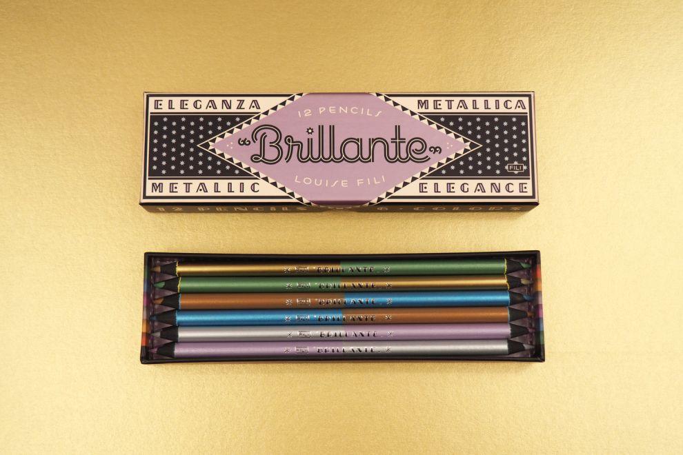 Brillante Pencils Stunning Package Design