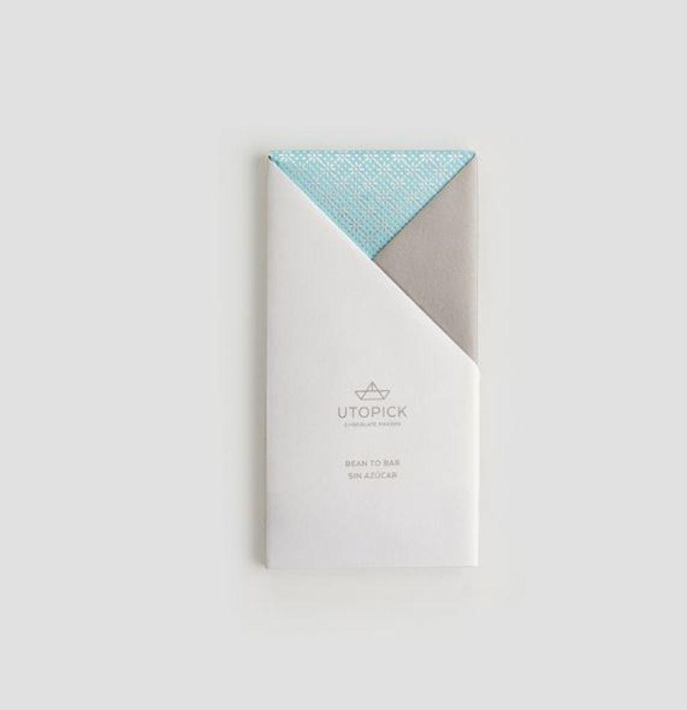 Utopick Chocolates Minimal Package Design