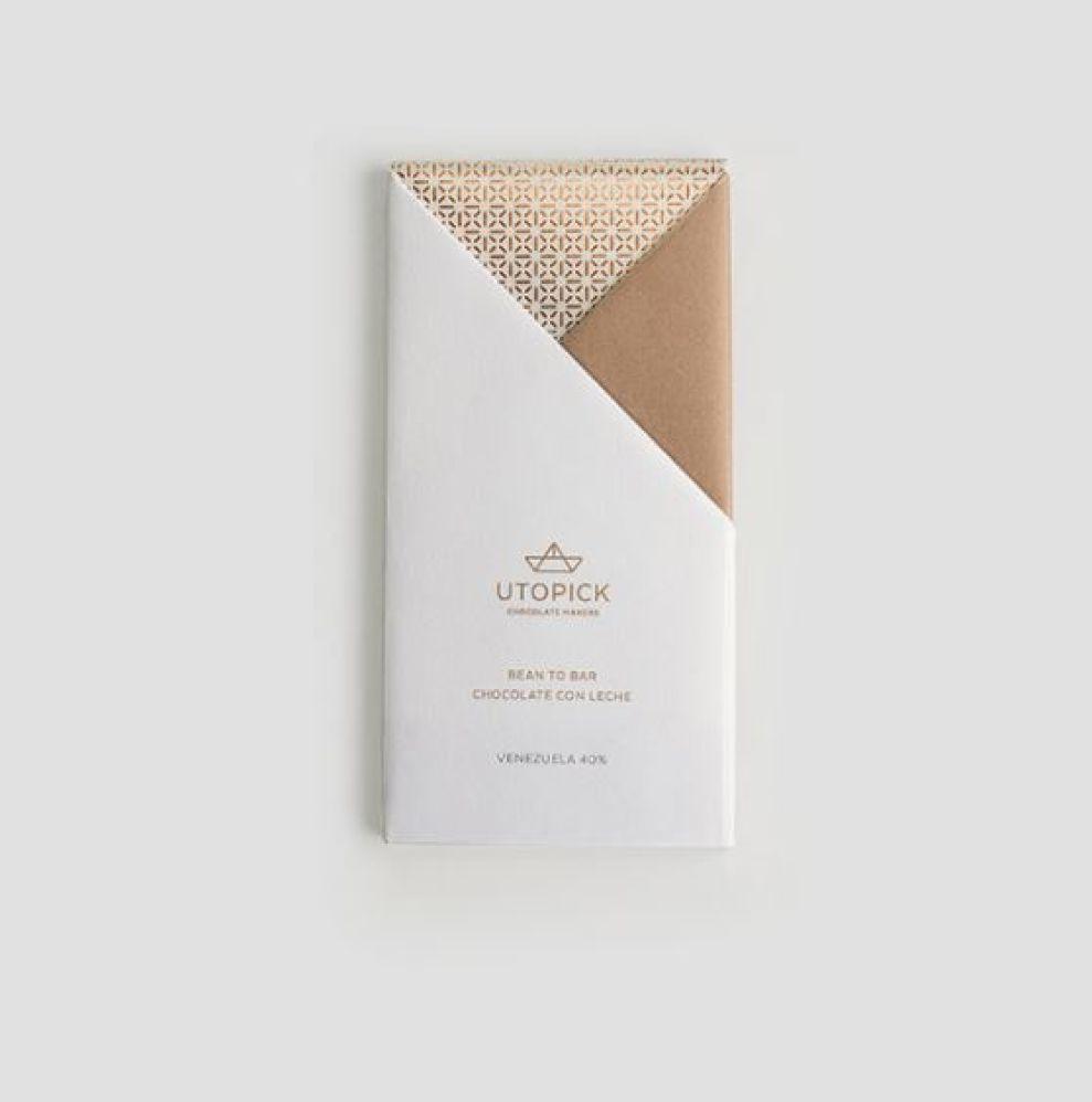 Utopick Chocolates Package Design