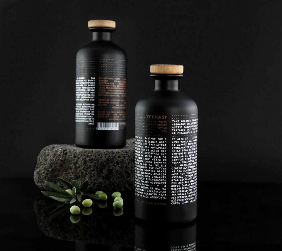 Tithasi Olive Oil Clean Package Design