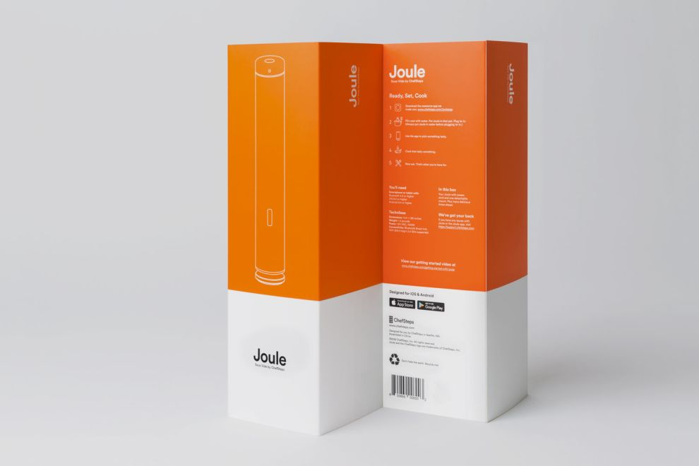 Joule: Sous Vide by ChefSteps Bold Package Design