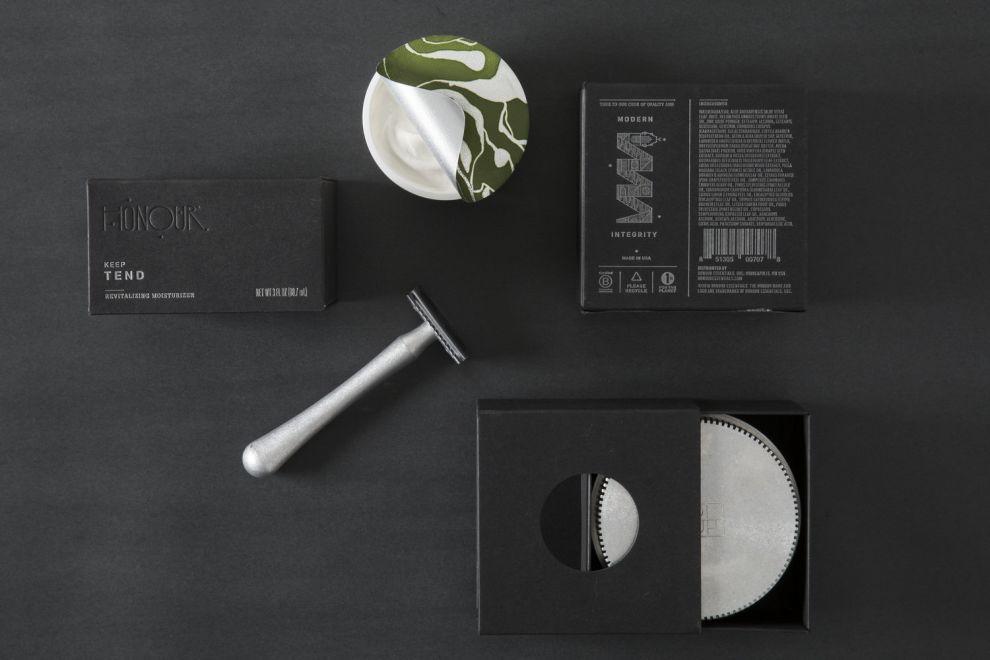 HONOUR Essentials Skincare Package Design