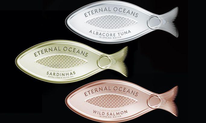Eternal Oceans Package Design