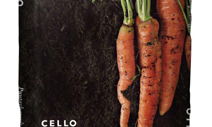 Cello Garden Soils Top Package Design