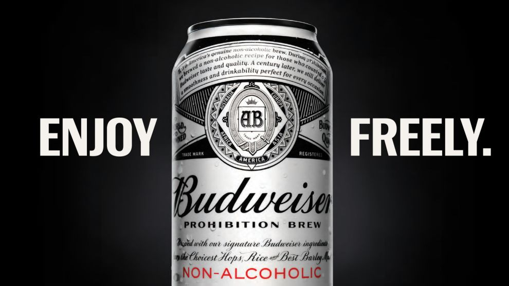 Budweiser Prohibition Brew Awesome Package Design