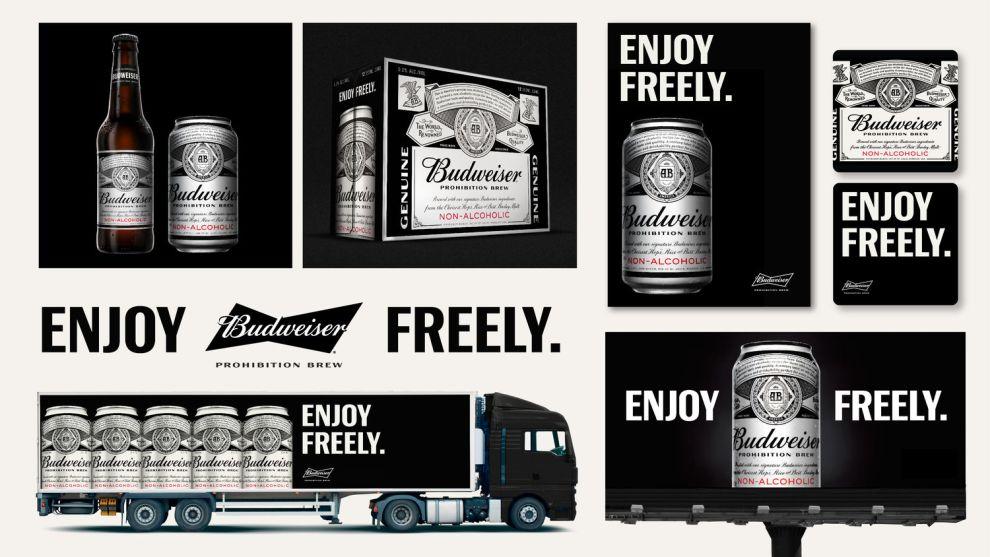 Budweiser Prohibition Brew Package Design