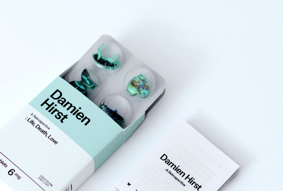 Artist Invitation - Damien Hirst (slide 1)