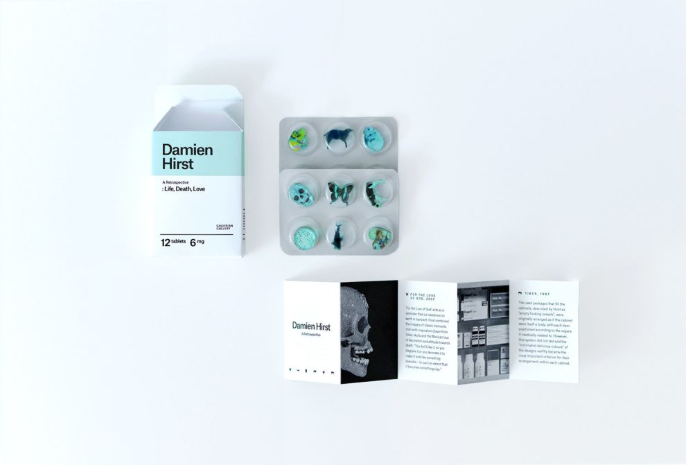 Artist Invitation - Damien Hirst (slide 4)