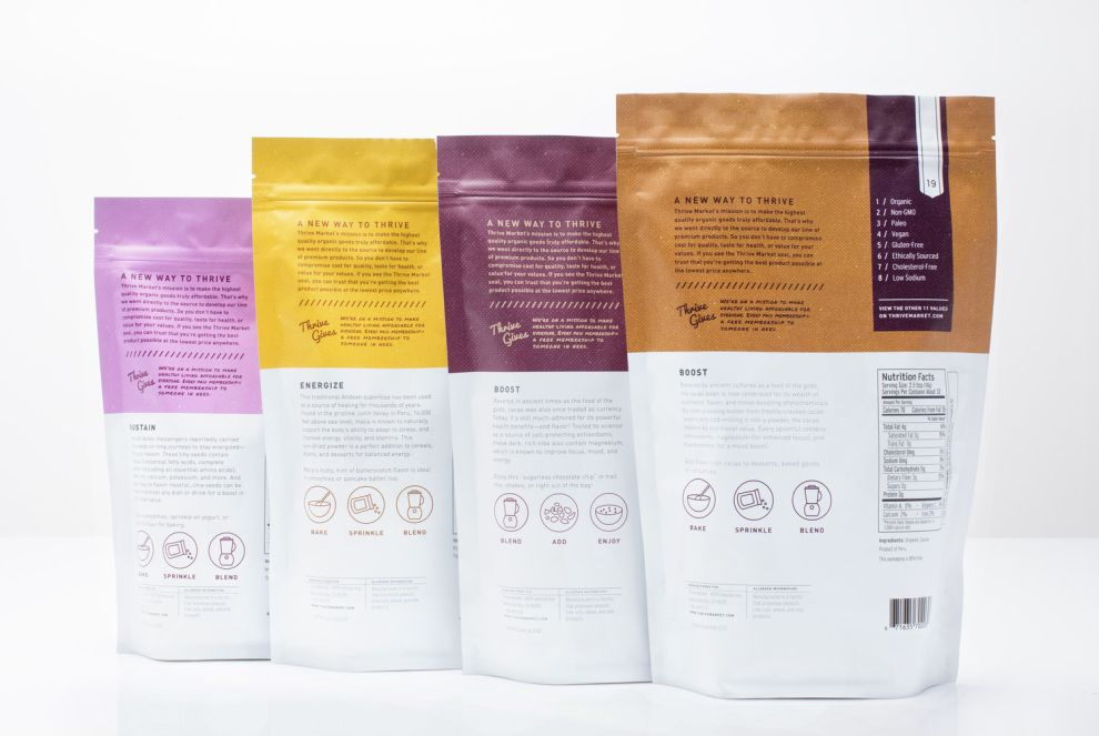 Thrive Market Cool Package Design